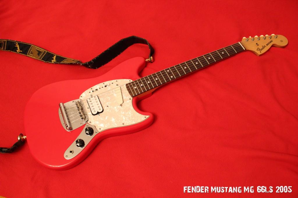 Fender Mustang MG66LS