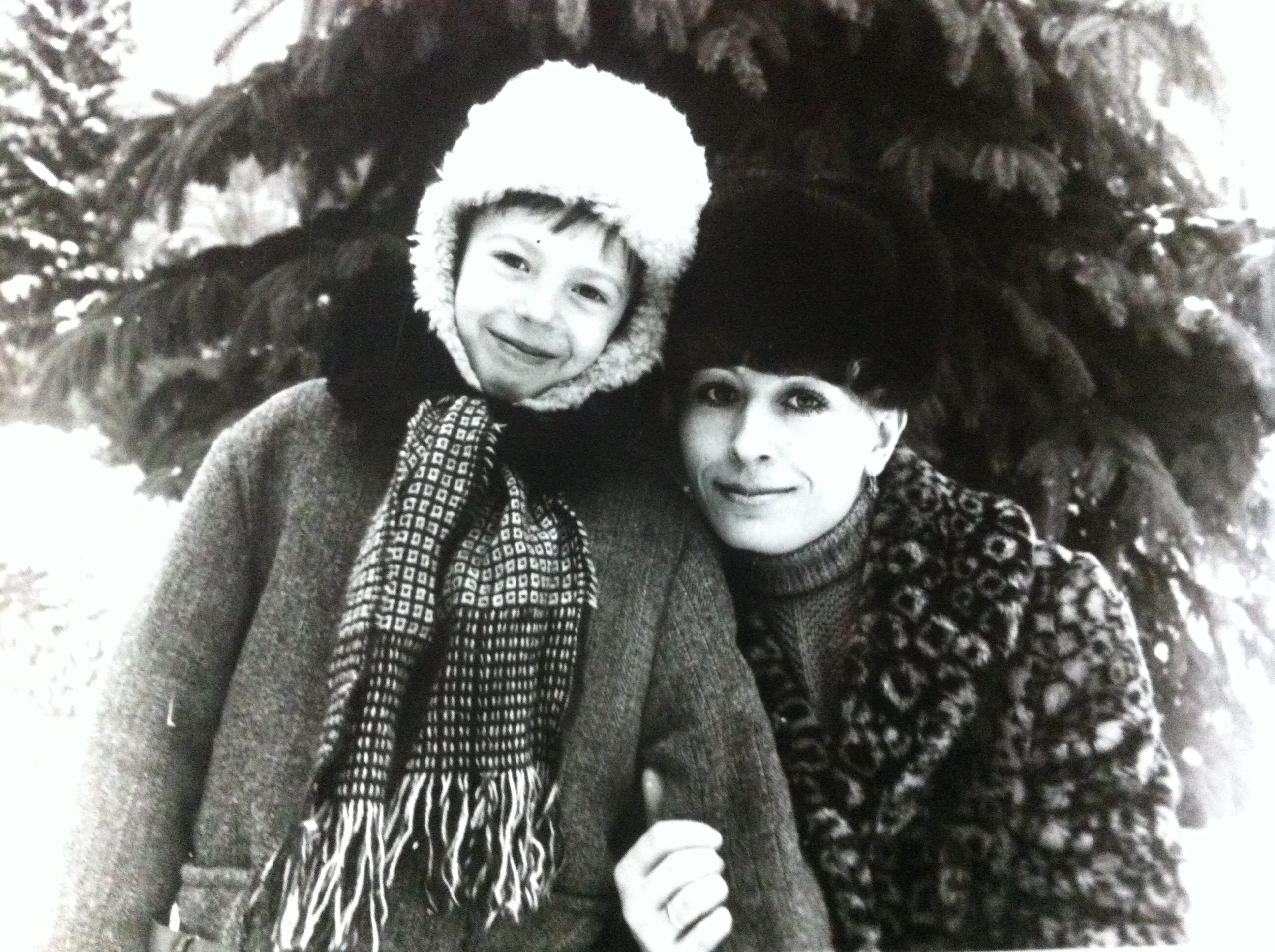 Максим Матяш и мама